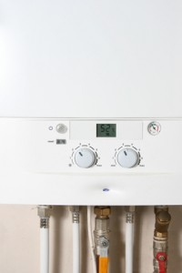 Central gas heating boiler