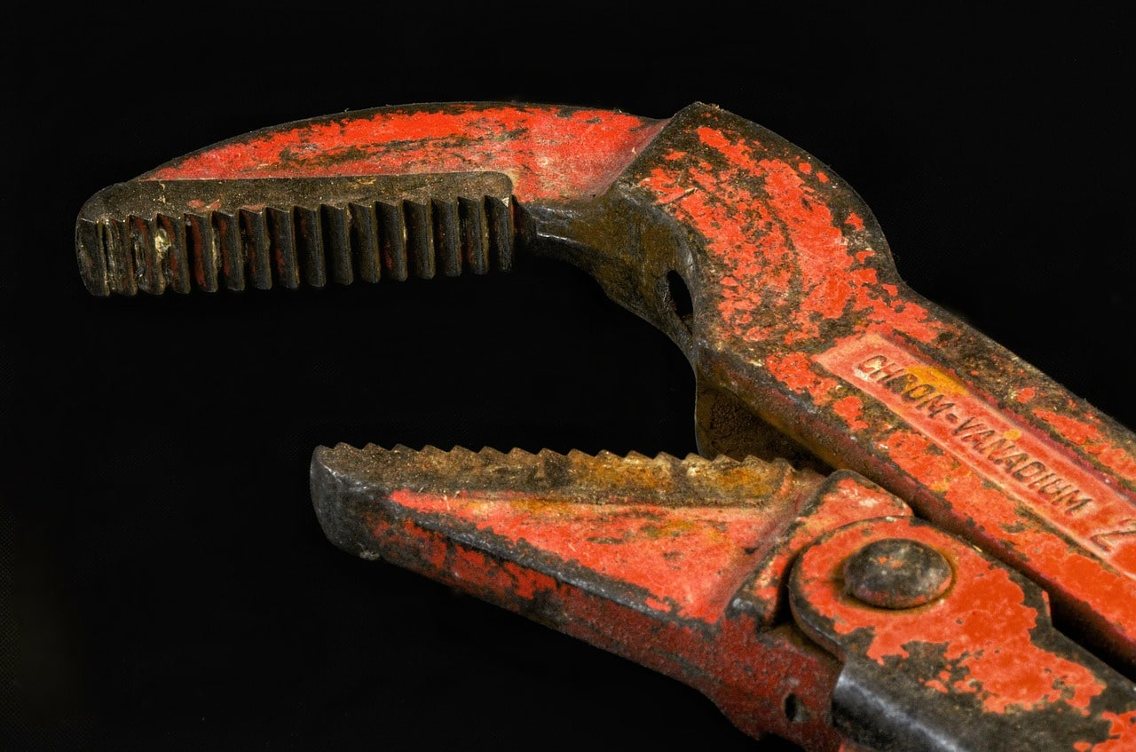 Pipe wrench in Ede